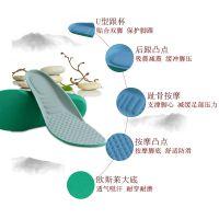 3双透气海绵鞋垫运动男女吸汗防臭军训减震旅游跑步板鞋篮球夏季
