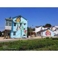 美丽乡村3D墙绘_文化墙手绘_美丽乡村文化墙3D墙绘