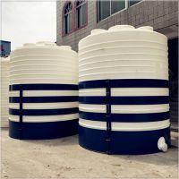 华社厂家10立方滚塑pe塑料水箱室外食品级水塔安装