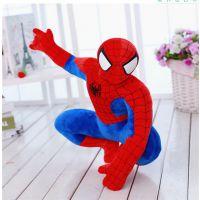 短毛绒玩具吉祥物定制加工网红爆款抖音玩具蜘蛛侠批发加工生产