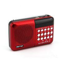批发老年人插卡数字选歌收音机充电MP3播放器U盘TF卡听歌小音箱