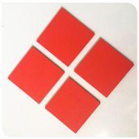 新乡PVC发泡板厂家直销 红色PVC广告板 铜门专用板