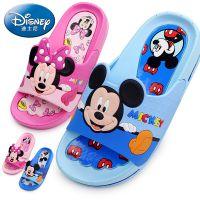 迪士尼童鞋儿童拖鞋夏季中小童卡通米奇室内防滑男女童宝宝凉拖鞋