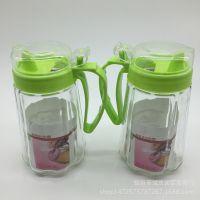 防漏玻璃油壶 油瓶醋壶家用厨房用品五元百货 地摊货源