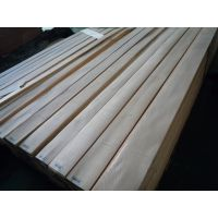 厂家直供白栓直纹木皮贴密度板木门板免漆木饰面板木皮