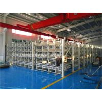 管材堆放在车间怎么管理 江苏伸缩悬臂货架正确的管材存储方式