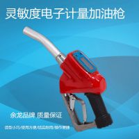 余龙 高精度液晶电子枪加油枪汽油柴油机油计量枪铸铝厂家直销