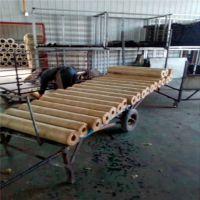 郑州市 防火铝箔保温管一吨多少钱离心玻璃棉管5个厚