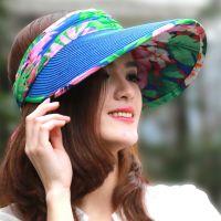冬天保暖帽子女夏天韩版遮阳帽女大沿防紫外线防晒帽太阳帽草编骑