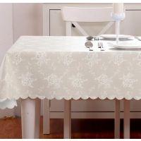 欧式防水台布桌巾餐厅长桌处理方形黑白防水环保连衣裙花边用品