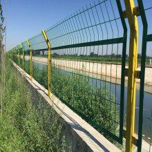 安平桃型柱护栏网厂家 小区三角折弯护栏 国帆防护网价格