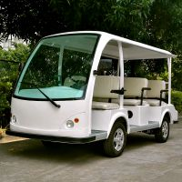 供应安步优品ABLQY081A经典八座游览观光看楼客户接待电动车