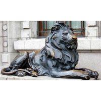 汇丰铜狮子雕塑厂家-博轩雕塑