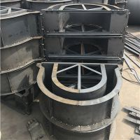 水泥预制泄水槽铁模具操作简单易脱模