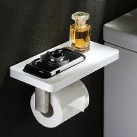 304不锈钢卫生间纸巾架厕所卷纸架厕纸架浴室 手纸架洗手间纸盒架