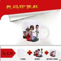 四川成都热转印烫画机 把照片印在衣服t恤上的设备 杯子印照片的烤杯机