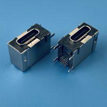 USB TYPE-C FEMALE侧插16PIN DIP CL=7.45mm/USB 3.1母座