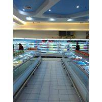 郑州超市冷柜风幕柜定做厂家