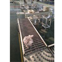 衡阳无动力滚筒输送机 碳钢喷塑纸箱动力辊筒输送机