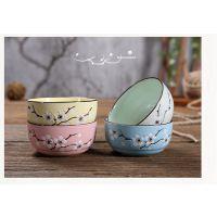 碗筷瓷器瓷碗精致漂亮保温碗用餐餐具米饭碗餐具玩小型便携礼品