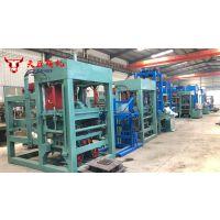 天匠水泥制砖机 QTY3-15面包砖机 植草砖机 透水砖机