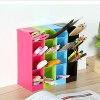 简约 4格多层多功能桌面厨房抽屉收纳盒笔筒餐具收纳整理架杂物盒