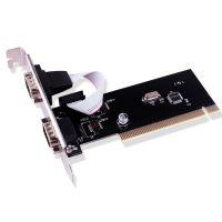PCI转串口卡COM口RS232 9针设备扩展卡工控卡台式机PCI转9针COM卡