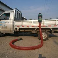 根据客户要求定做装车专用小型输送设备 软管上料机 吸粮机科博机械