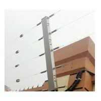 宏安科张力电子围栏防盗报警系统,适用于不能带电的周界场所