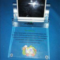 亚克力高档手机座定制 批量直销透明亚克力手机展示架 手机展示座