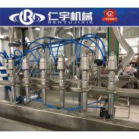 销售直线灌装机 直线式液体灌装机 灌装设备