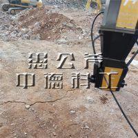江苏镇江南京液压路面破石路窖拆除工具,静态劈裂棒效果怎么样