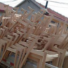 会议洽谈实木餐椅 高端椅子 实木Z椅子厂 进口白橡实木餐椅系列