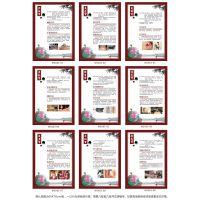 中医9九种体质养生保健技巧中药疗法挂图宣传画海报 墙贴画WSA63