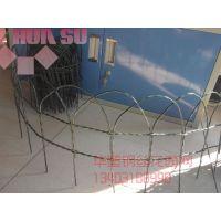 【厂家直销】新款园艺护栏批发、绿色色地插式涂塑栅栏、花园围栏