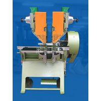 HL-13TR双粒铆钉设计双粒铆钉(鸡眼)的铆合作业。一次打双粒(三粒)铆钉的设计。铆合距离可以自由