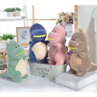 厂家直销羽绒棉恐龙先生毛绒玩具恐龙公仔抱枕娃娃机公仔礼品定制