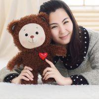 毛绒玩具定制彩虹宝宝动画片心宝泰迪熊公仔爱心小熊玩偶一件代发