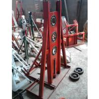 河北亚源重型液压电缆放线架子多孔可调液压电缆放线架线轴放线器20T