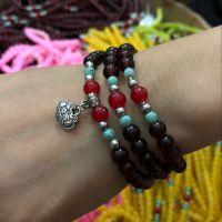 珍珠手链 串珠手链 1元2元店批发货源地摊小饰品 可做赠品小礼品