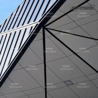 造型铝单板安装效果 千树华高幕墙铝板定制