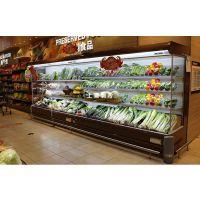 厂家直销生鲜超市蔬菜展示柜 风冷水果保鲜柜武汉