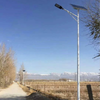 承运供应BY0005四川7米40W美丽乡村建设太阳能路灯照明LED新农村路灯可定制室外路灯