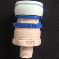 JOSOT外螺纹型水路塑料接头TS-2N TS-3N 1/4 3/8螺纹接头 耐酸水接头