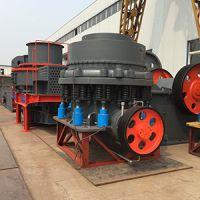 时产150-200吨鹅卵石圆锥破碎机粉碎石子效率高