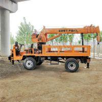 时兴生产自备随车吊 改装6吨农用四不像吊装用起重机 工程自卸吊厂家