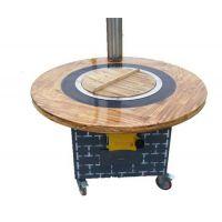 启航不锈钢制品(图)-不锈钢可移动柴火灶-移动柴火灶