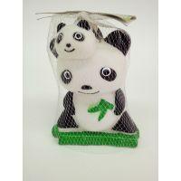 厂家直销宠物玩具啃咬发声玩具整蛊发泄惨叫熊猫无毒搪胶熊猫批发