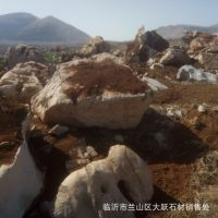 自家矿山供应西安市户县景观石 假山石质优价廉