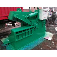 废铁废铝自动剪切机山东金亿定做鳄鱼式切断机 250吨鳄鱼剪切机多少钱